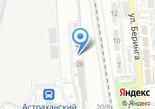 Компания «Астраханская дорожная техническая школа» на карте