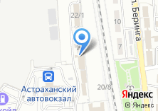 Компания «Управление специальной связи по Астраханской области» на карте