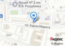 Компания «Экспресс-Газель» на карте