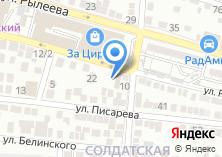 Компания «Автомойка на ул. Рылеева» на карте