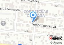 Компания «Асья» на карте