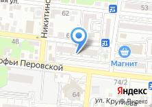 Компания «Строящийся жилой дом по ул. Софьи Перовской» на карте