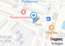 Компания «ДЕВА гаражно-строительный кооператив» на карте