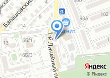Компания «Меготрейд» на карте