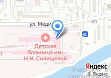 Компания «Областная детская клиническая больница им. Н.Н. Силищевой» на карте