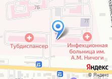 Компания «Областная инфекционная клиническая больница им. А.М. Ничоги» на карте