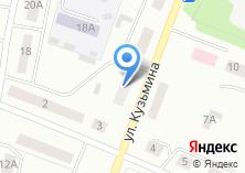 Компания «Магазин женской одежды на Кузьмина» на карте