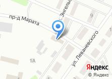 Компания «Продуктовый магазин на ул. Марата проезд» на карте