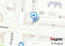 Компания «Овощной магазин на ул. Гагарина» на карте