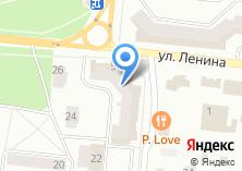 Компания «Кымыш Су» на карте