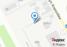 Компания «Специализированная штрафная автостоянка» на карте