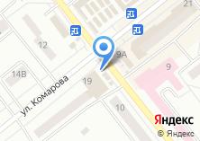 Компания «Бистро на ул. Комарова» на карте