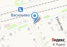Компания «Продуктовый магазин на ул. Пушкина» на карте