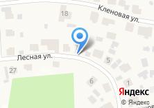 Компания «Строящийся коттеджный поселок по ул. Лесная (Загородный клуб)» на карте
