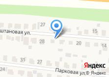 Компания «Строящийся коттеджный поселок по ул. Каштановая (Загородный клуб)» на карте