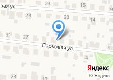 Компания «Строящийся коттеджный поселок по ул. Парковая (Загородный клуб)» на карте