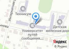 Компания «Казанский техникум железнодорожного транспорта» на карте