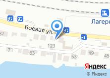 Компания «Продуктовый магазин на Боевой» на карте