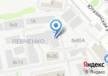 Компания «ИВК» на карте