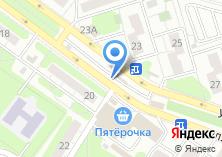 Компания «Продуктовый магазин на Батыршина» на карте