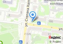 Компания «Продуктовый магазин на ул. 25 Октября» на карте