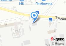 Компания «Отдельный пост пожарной части №76 Авиастроительного района» на карте