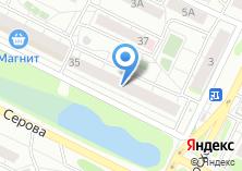 Компания «Магазин женской одежды на ул. Серова» на карте