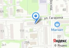 Компания «Продуктовый магазин на Гагарина» на карте