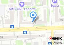 Компания «Флэт» на карте