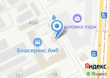 Компания «Автосалон Автолига» на карте