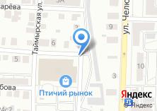 Компания «Автостоянка на Рыночной» на карте