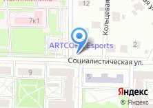 Компания «Продуктовый магазин на Социалистической» на карте