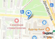 Компания «Продуктовый магазин на ул. Декабристов» на карте