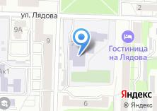 Компания «Гимназия №36» на карте