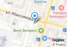 Компания «Маренго» на карте