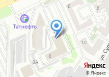 Компания «Техгазпроект» на карте