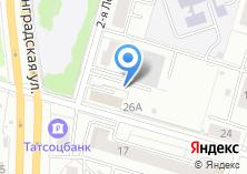 Компания «Металлопрокат» на карте