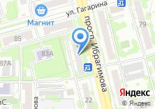 Компания «На Ибрагимова» на карте