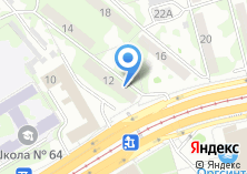 Компания «Альпекс» на карте