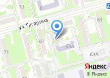 Компания «Лавена» на карте