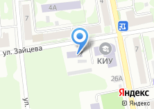 Компания «Казанский инновационный университет им. В.Г. Тимирясова» на карте
