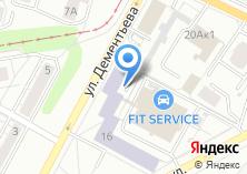 Компания «РОСТО» на карте