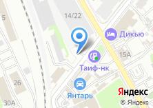 Компания «Шиномонтажная мастерская на Тази Гиззата» на карте
