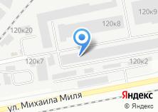 Компания «Модерно» на карте