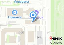 Компания «Спутник Окон» на карте