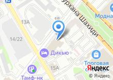 Компания «Фабрика безупречной рекламы» на карте