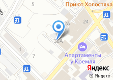 Компания «Хэлс-трэвел» на карте