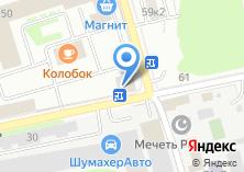 Компания «Меховой полуфабрикат» на карте