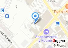 Компания «Метиз-Сервис» на карте