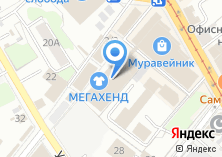 Компания «Муравейник» на карте